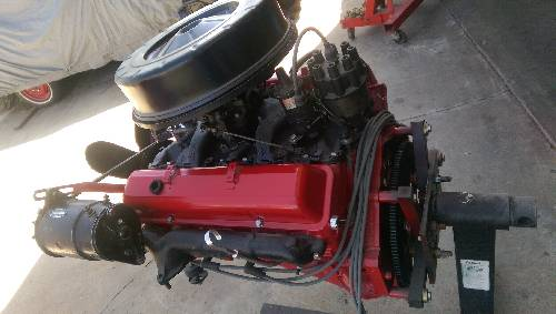 JunkYardFind com Chevy 305 Complete Engine